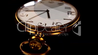 3D animated pocket watch