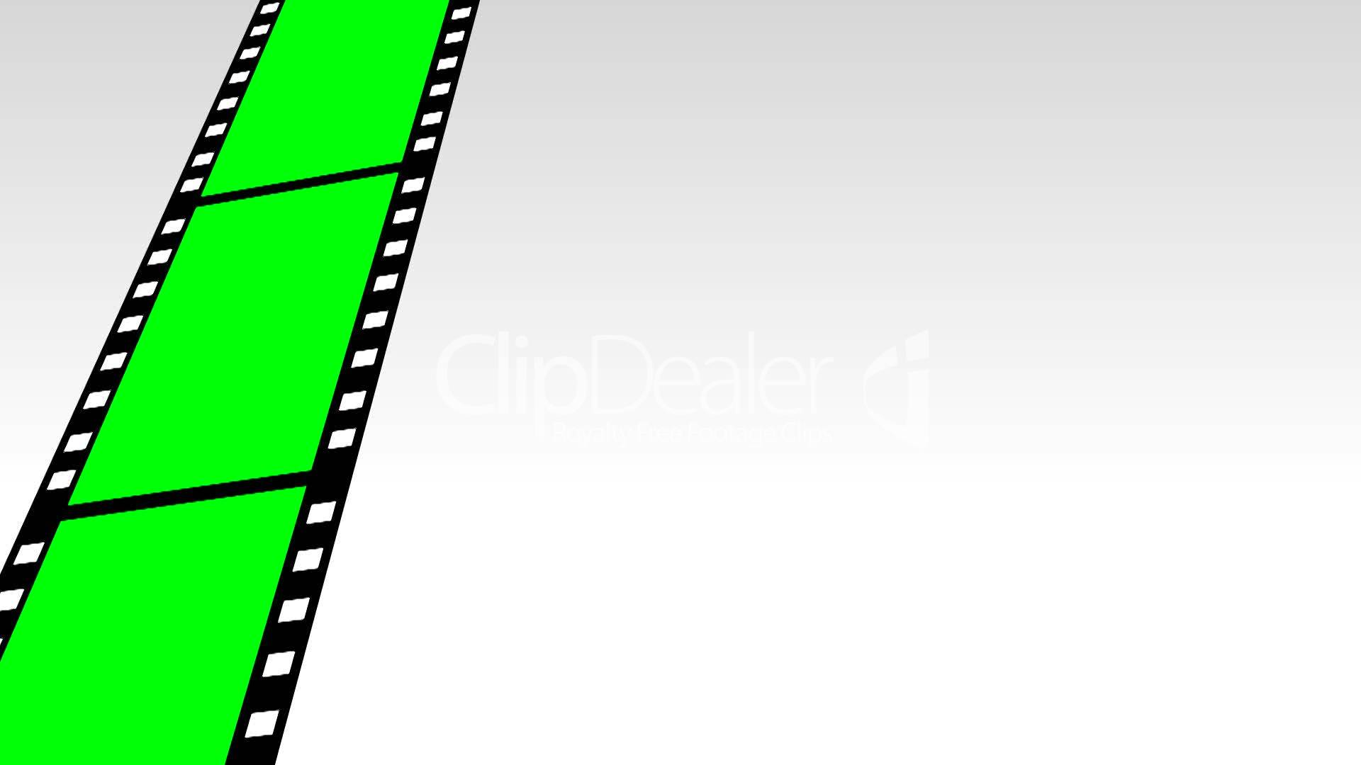 Moving Film Strip: Royalty-free video and stock footage