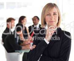Senior Female Business leader