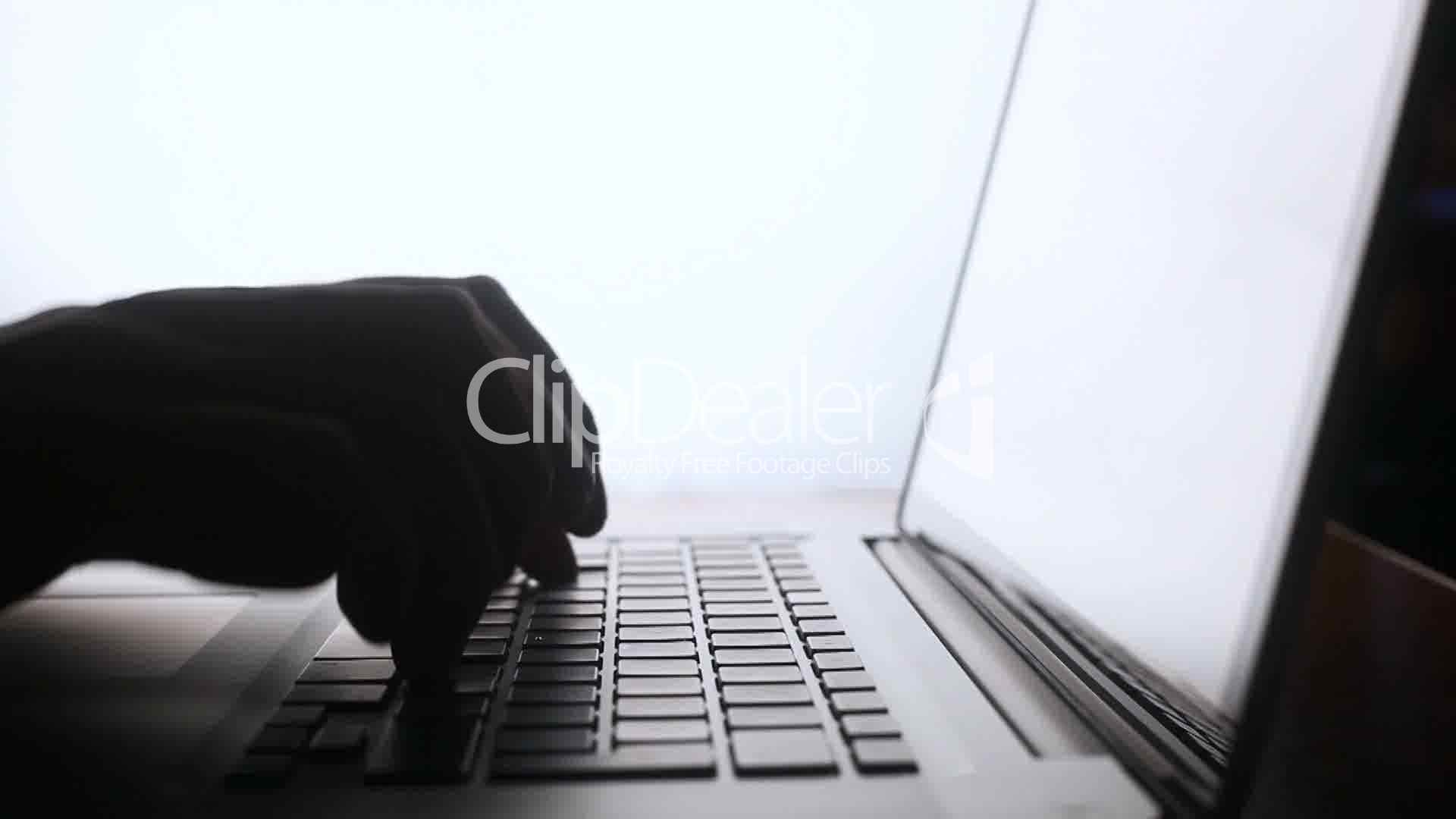 Typing Silhouette | www.imgkid.com - The Image Kid Has It!