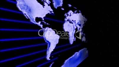Earth to map