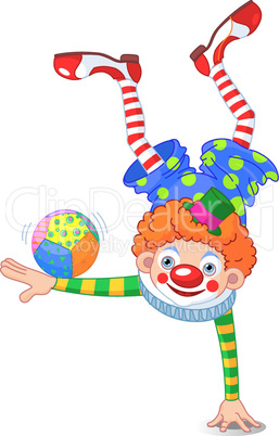 Acrobat Clown