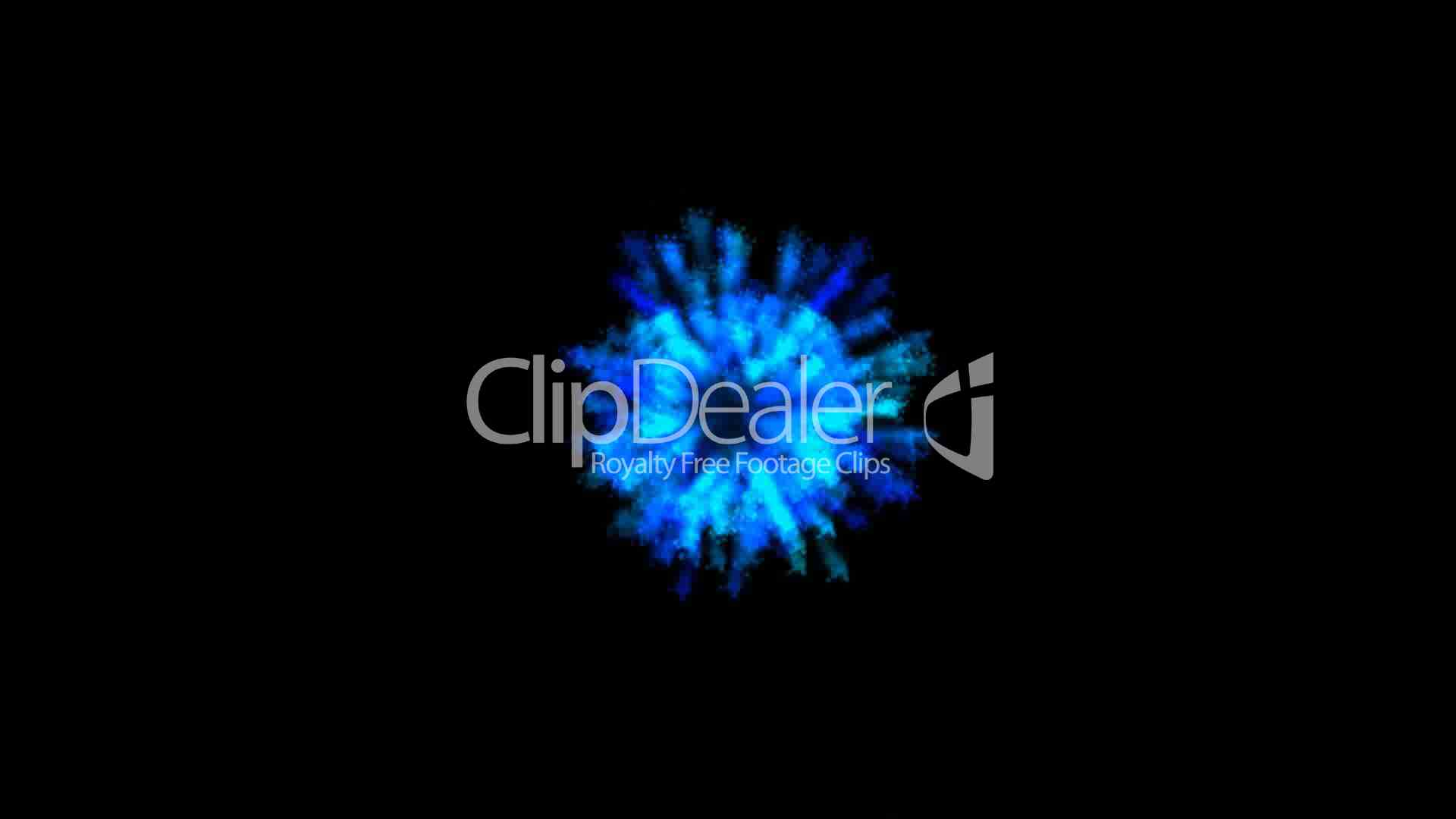 Video footage clip rotating blue light seamless loop 3d animation