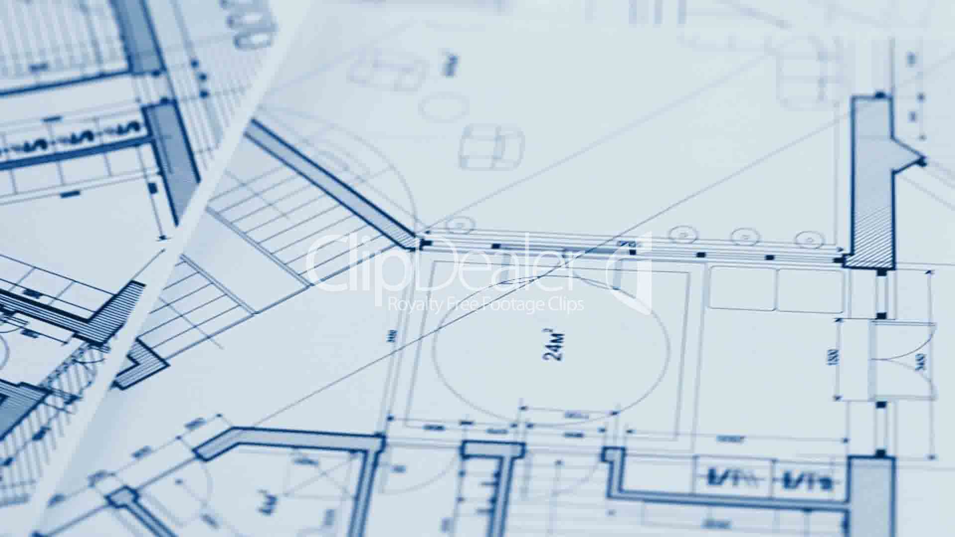 Architecture blueprints royalty free video and stock footage for Blueprint architects