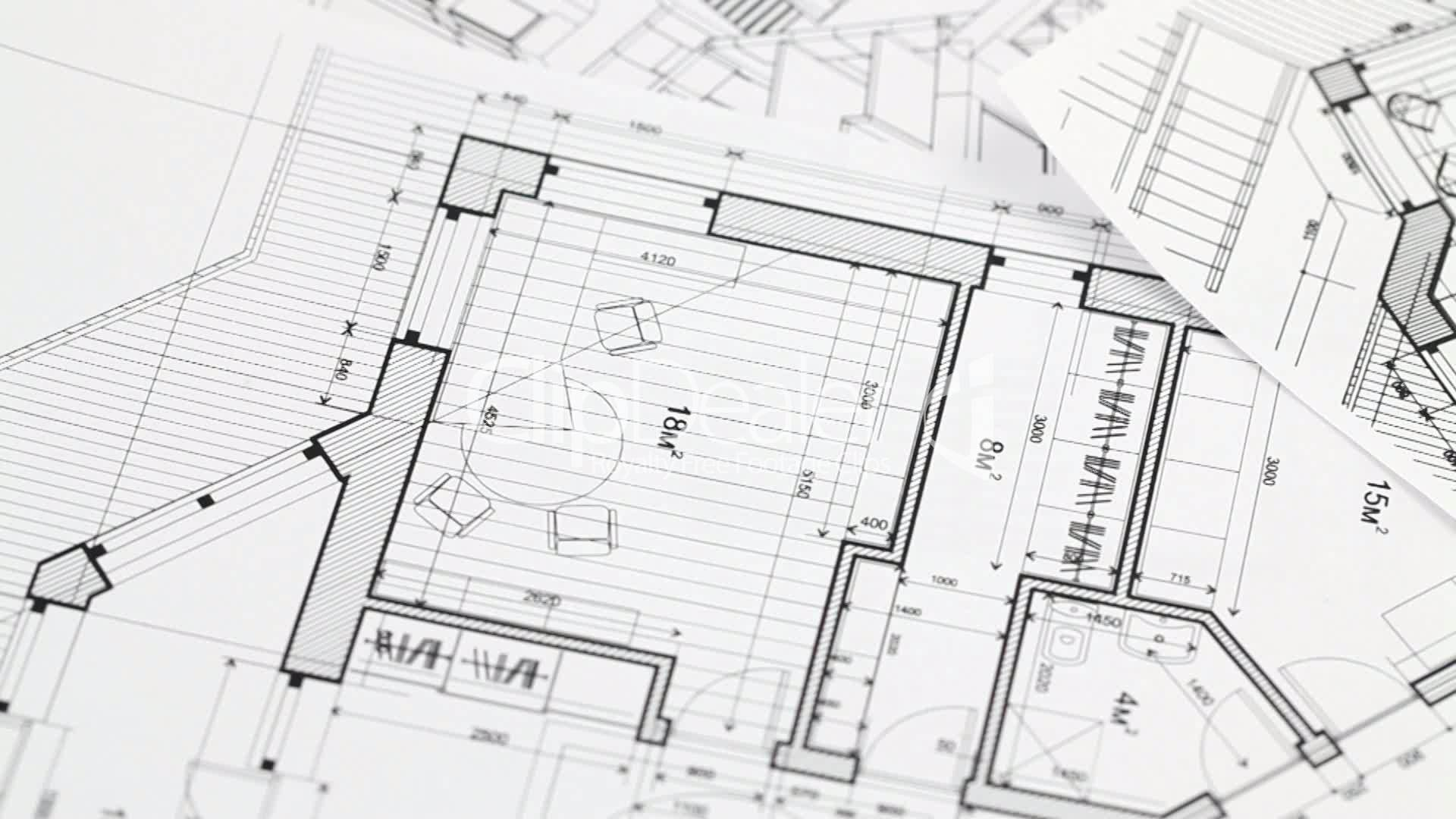 Architecture Blueprints Wallpaper architecture blueprints – modern house