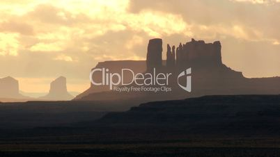 Rock Formations of Monument Valley