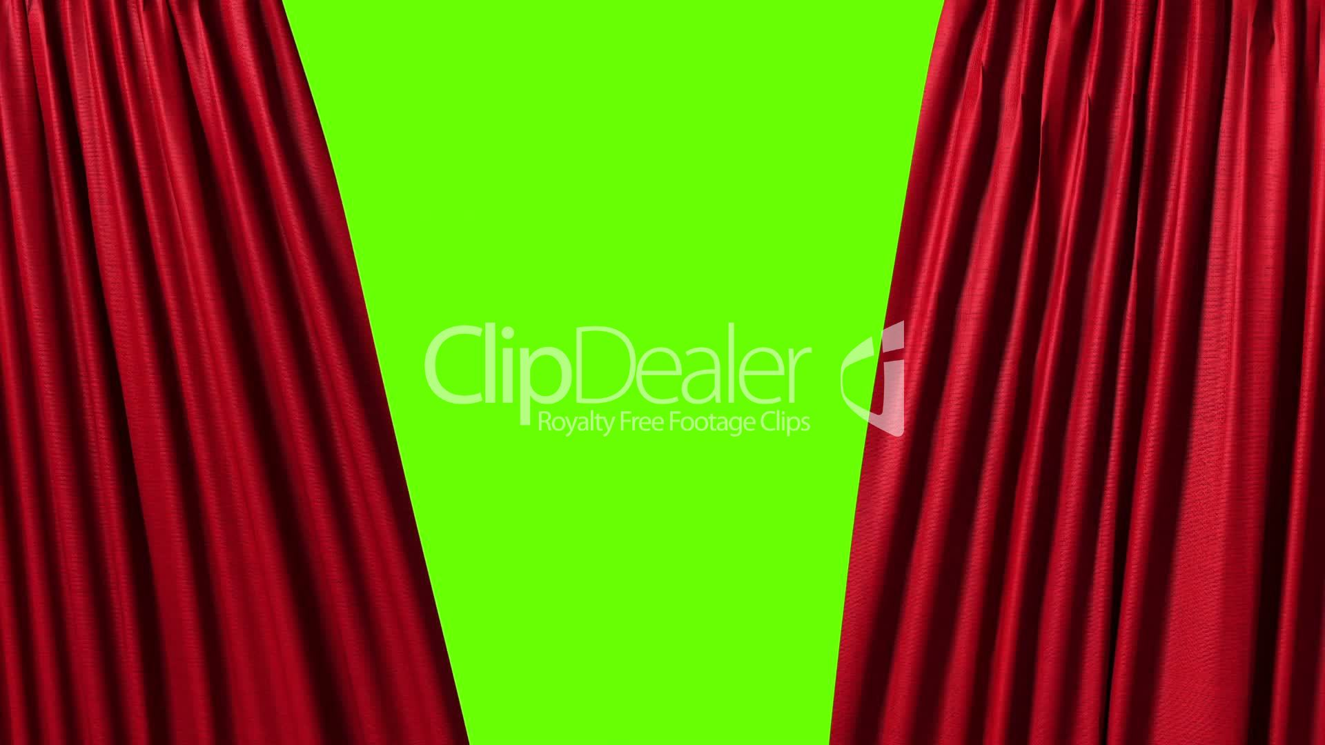 Opening and closing red curtain stock animation royalty free stock - Opening And Closing Red Curtain Royalty Free Video And