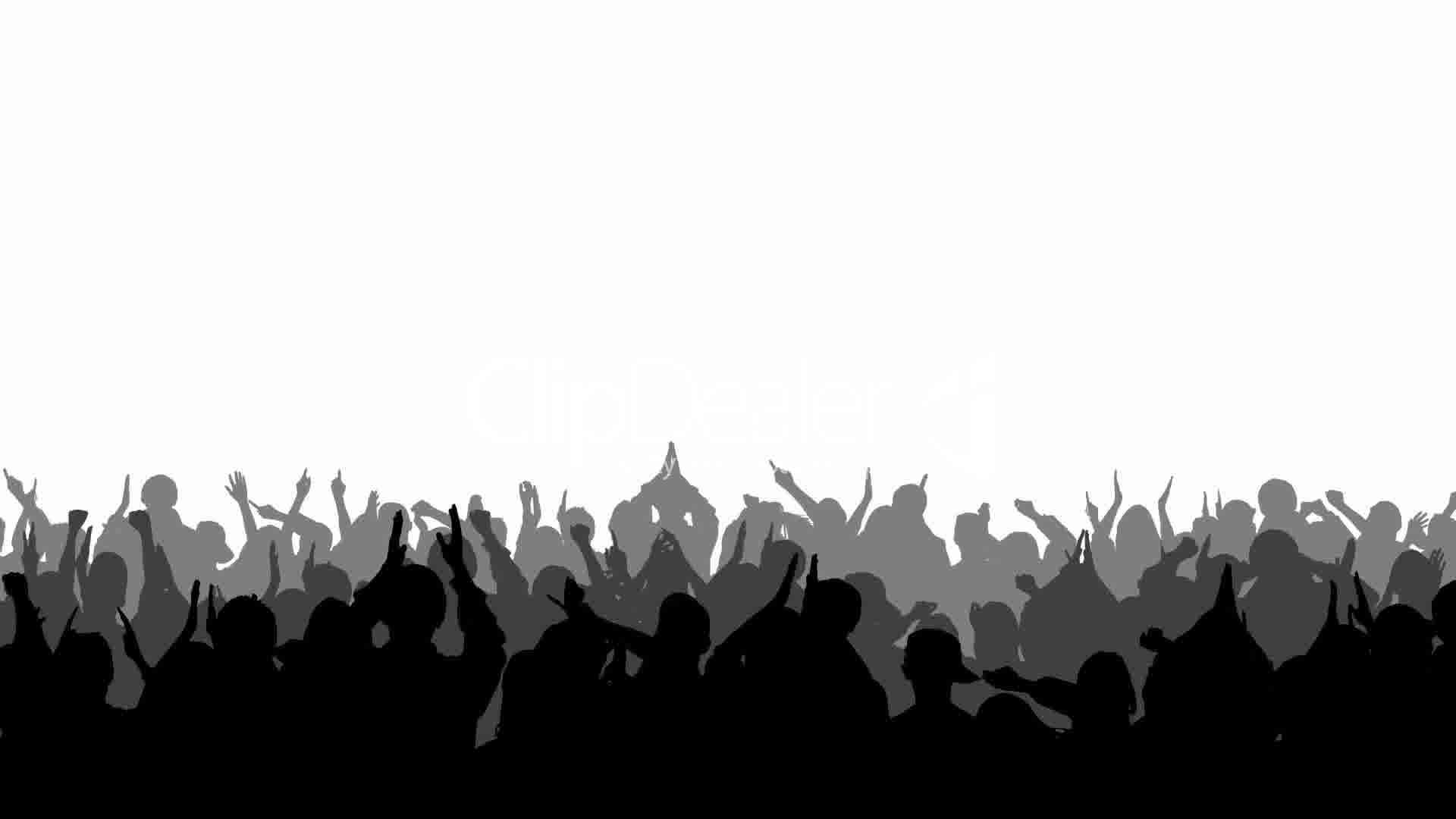 Crowd Silhouette Transparent images  Hd Image Galleries