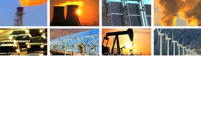 Montage of Contrasts in Clean Power & Fossil Fuel Pollution