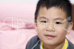 Asian Chinese young boy.