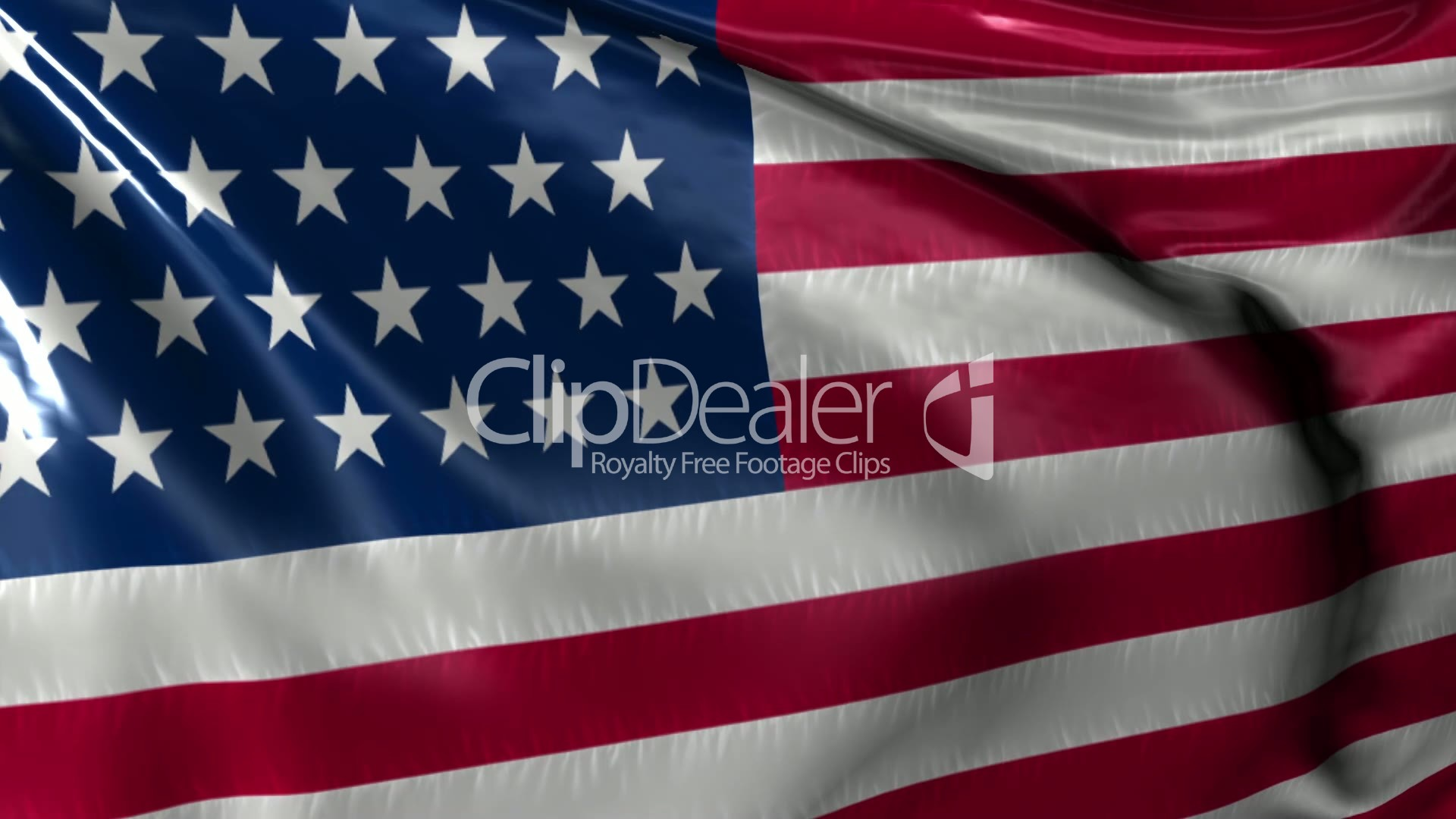 Free US Flag Stock Footage American Flag Waving- Stock Footage For Free