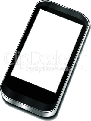 Abstract touchscreen smartphone - Iphone smartphone