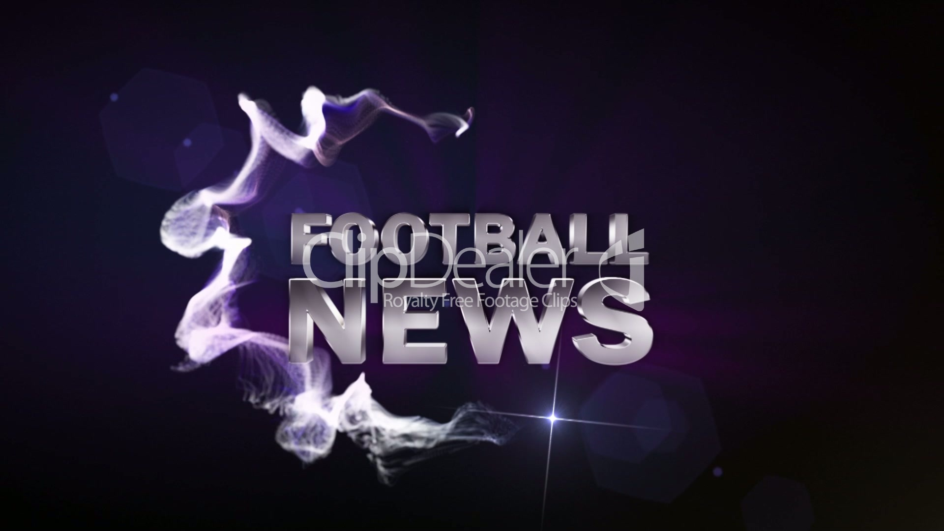 FOOTBALL NEWS Blue (2 variations) - HD1080: Royalty-free ... Soccer News