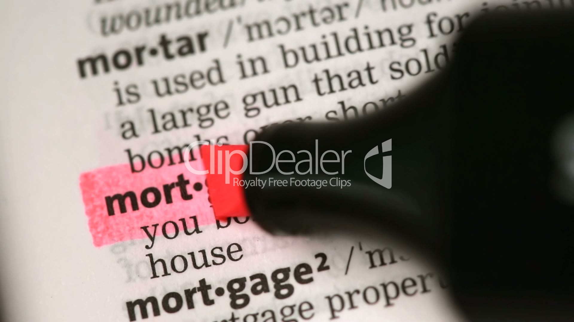 Mortgage Meaning In Terms Of Banking