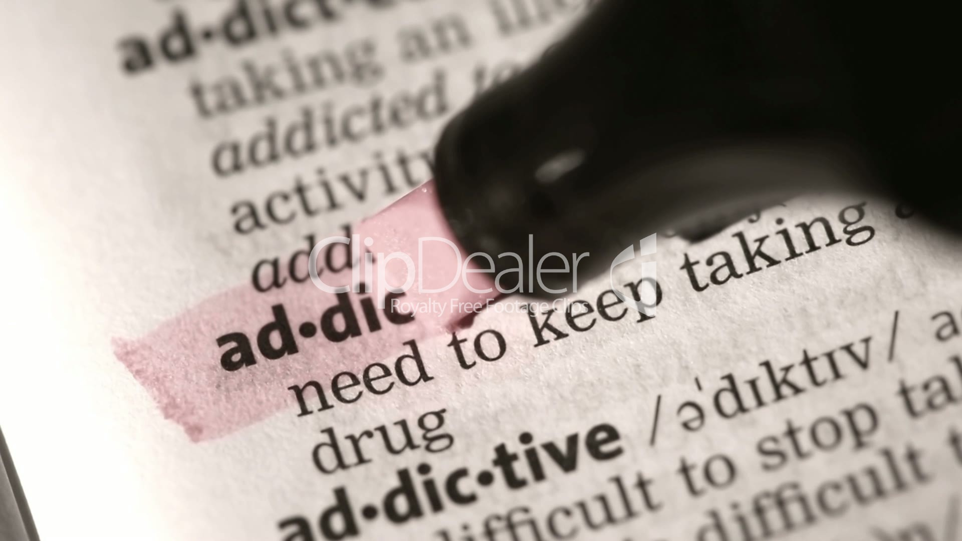 definition of addiction A process or behavioral addiction is defined as a compulsion to continually engage in behaviors despite the negative impact on one's healthy or daily life.