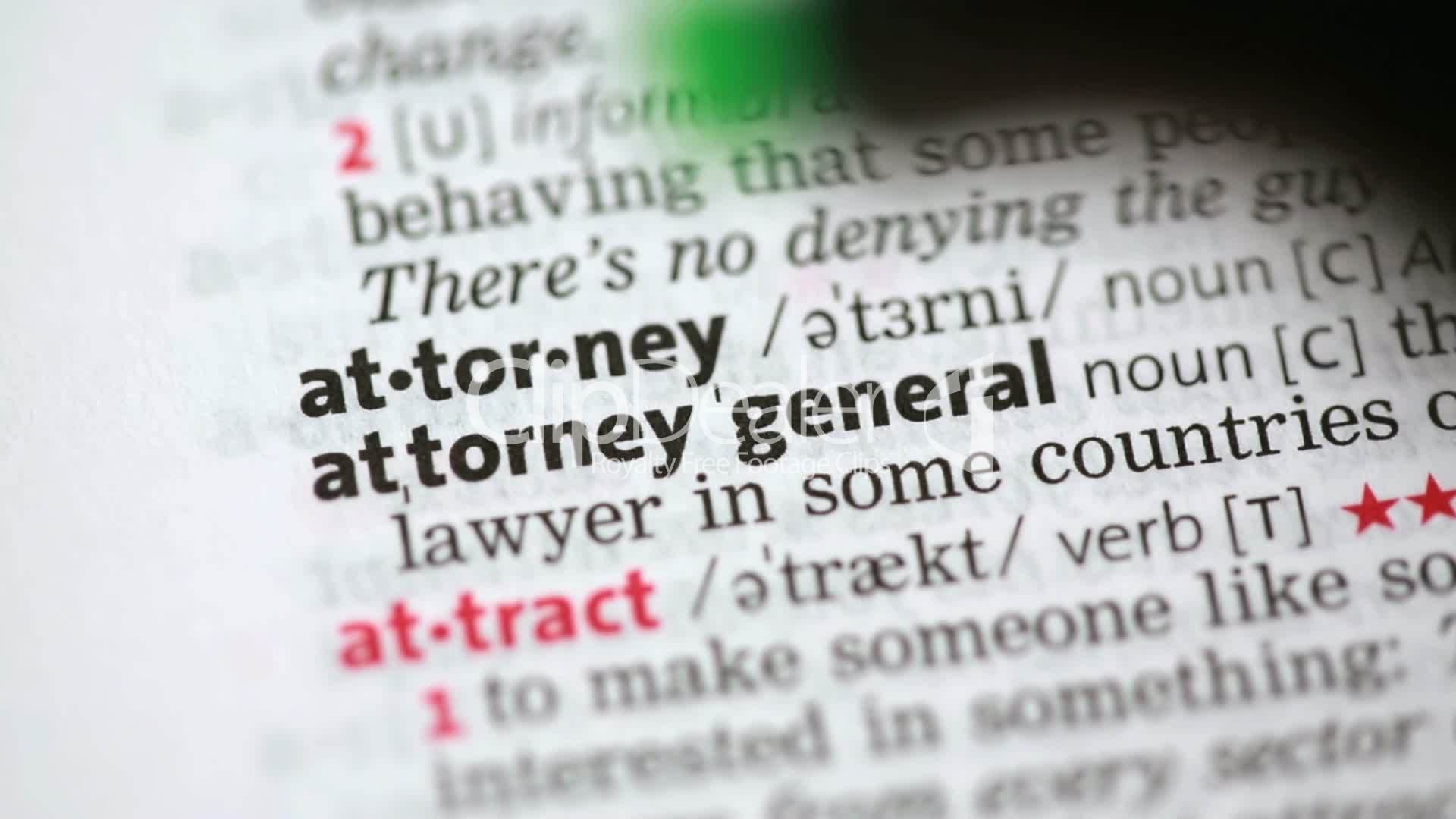 Definition of attorney: Royalty-free video and stock footage