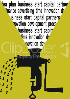 Business concept dollar