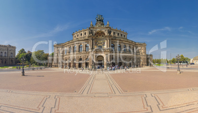 Semperoper Dresden High Resolution Panorama