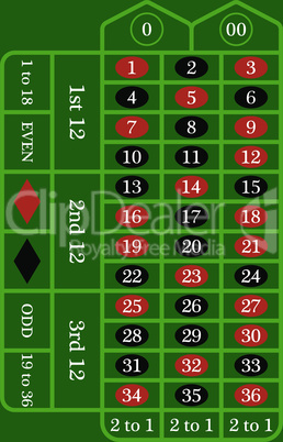 Roulette Table Icon
