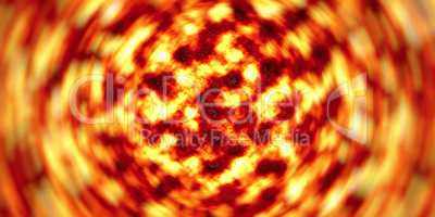 Swirling lava texture abstraction