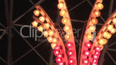 Lichter auf Kirmes