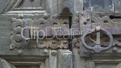 altes Türschloss