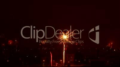 Feuerwerk im Zeitraffer 3