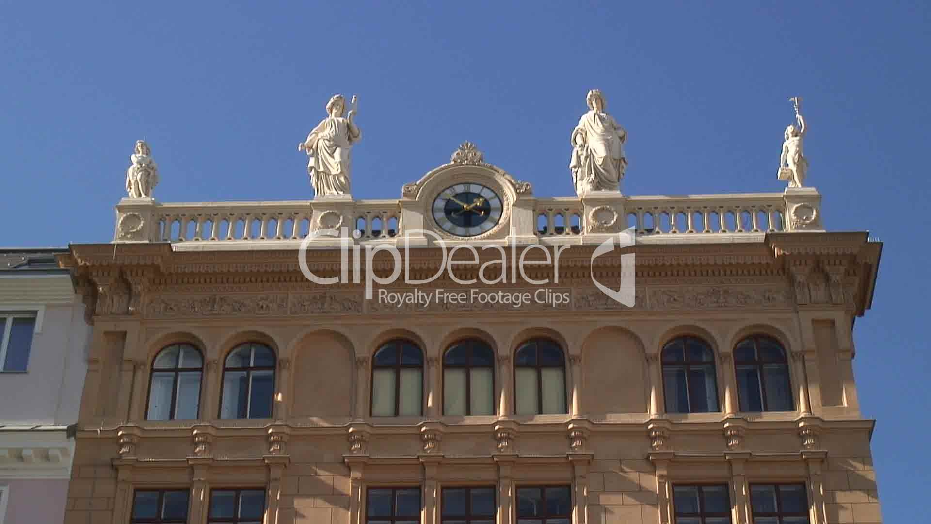 Fassade nahe hofburg in wien royalty free video and stock for Spell balcony