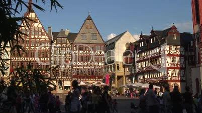 Römerberg - Altstadt Frankfurt / Main