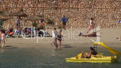 Badestrand auf Mallorca