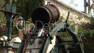 Wasserschöpfrad in San Joan