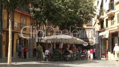 Cafe in Palma de Mallorca