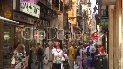 Einkaufsstrasse Palma de Mallorca