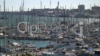 Jachthafen und Fischereihafen