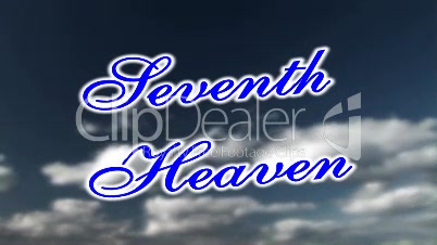 """Background """"Seventh Heaven"""" Clouds"""