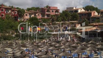 Badebucht in Paguerea Strandleben