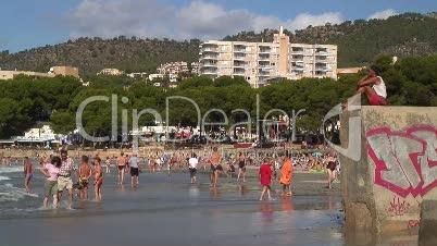Badebucht in Paguerea
