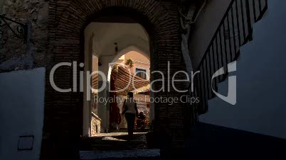 Capri ancent village