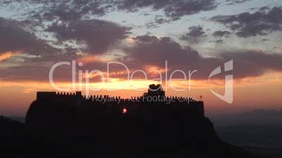 Burg und Fels von Clavio