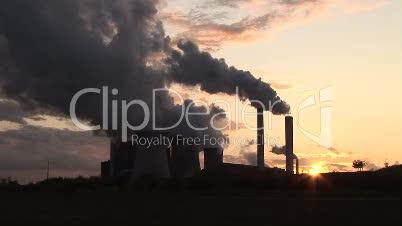 Industrieanlage Kraftwerk