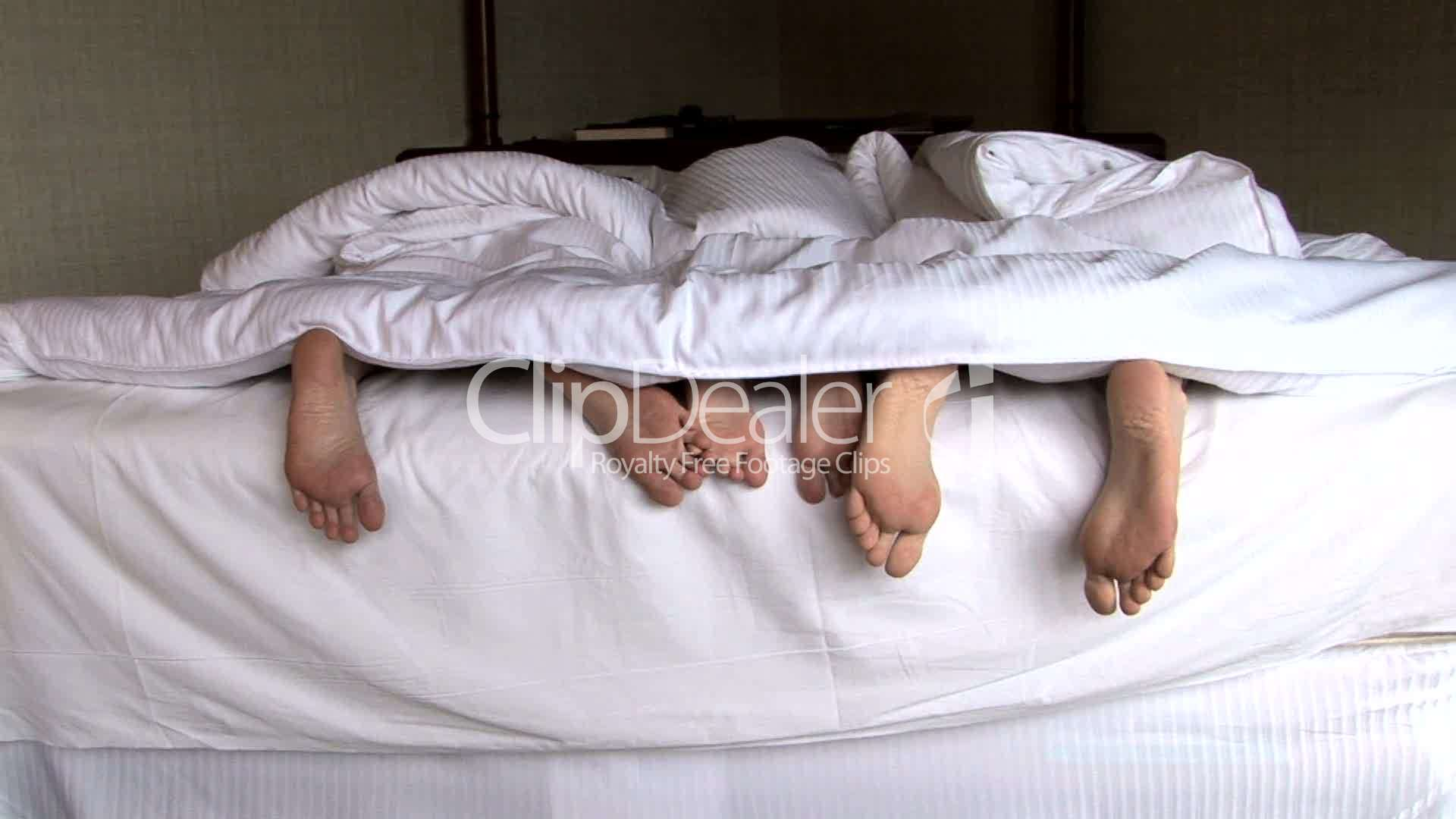 Family Feet In Bed Royalty Free Video And Stock Footage