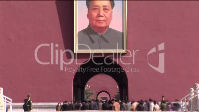 Chairman Mao, Forbidden City and Chinese Tourists
