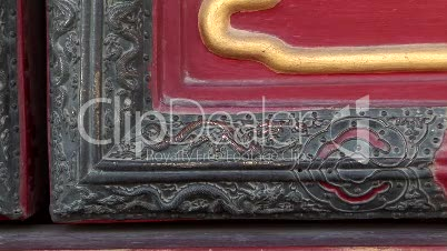 Bronze Dragon Detail