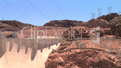 Hoover Dam and Power lines