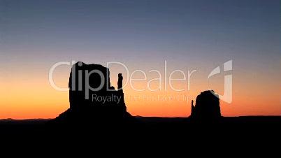 Monument Valley, sunrise