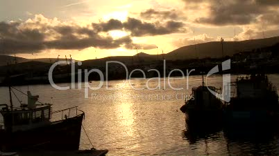 Stock Footage of Dingle in Ireland
