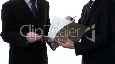 Business Stock Footage of Two Businessmen
