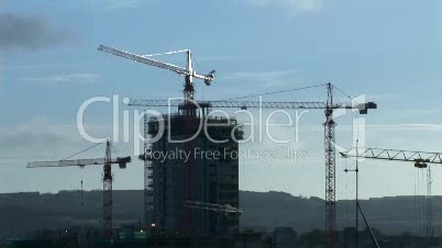 Industry Stock Footage of Construction
