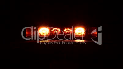 Stock Footage - Warning Lights