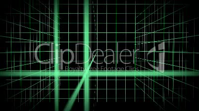 Background Animation - Mesh Green